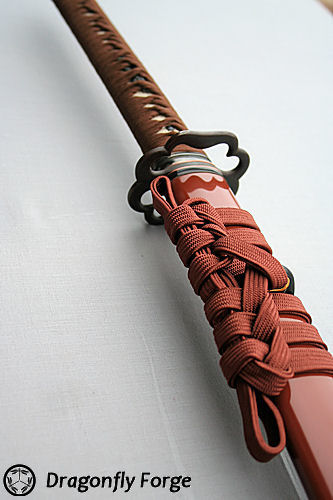 tsuka-russet-brown-higo koshirae3 closeup