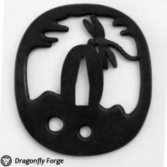 Dragonfly 'Tombo' Tsuba